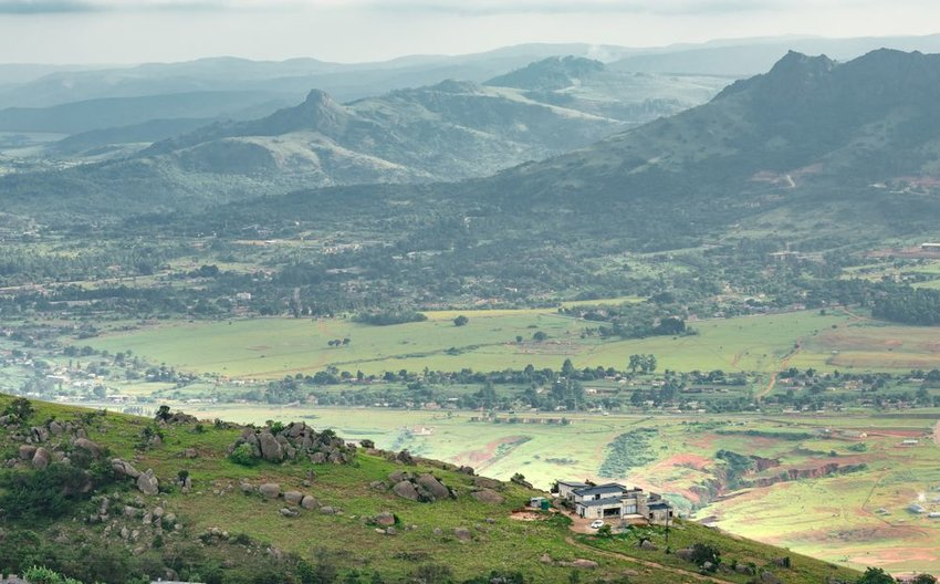 Ezulwini valley in Swaziland