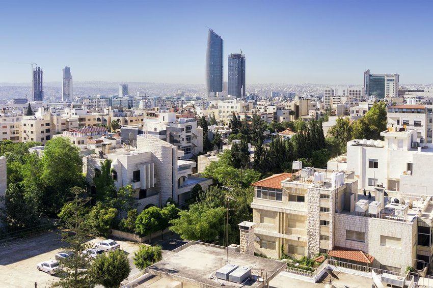 Amman city view