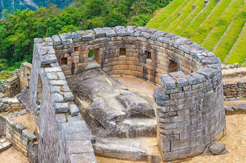 A famous astronomical observatory at Machu Picchu