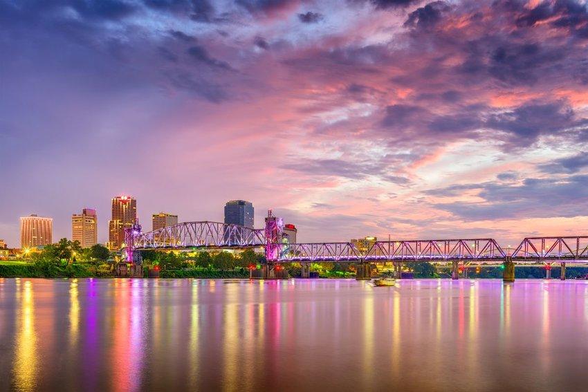 Skyline of Little Rock, Arkansas