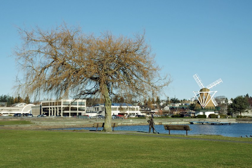 A park in Oak Harbor, Washington