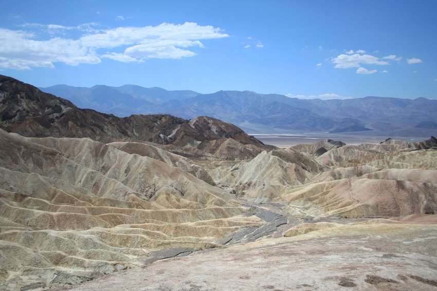 A Death Valley landscape used in Star Wars: A New Hope