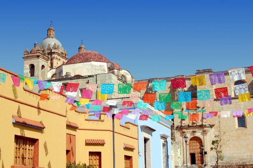 Santa Domingo church in Oaxaca, Mexico