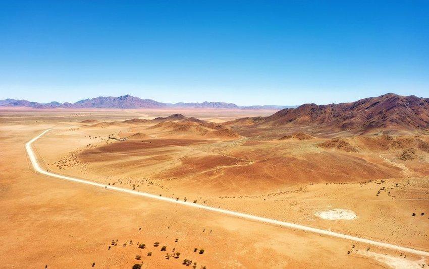 Namib Desert in Southern Namibia