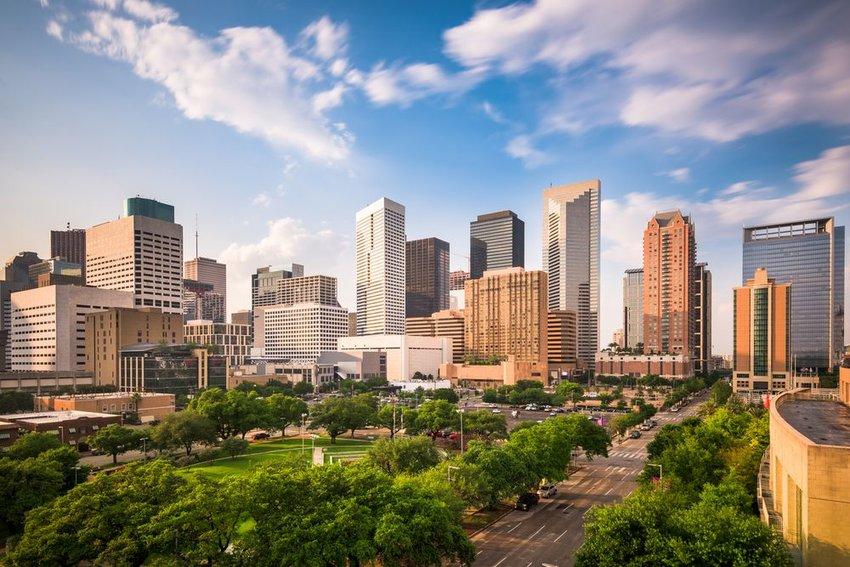 Skyline of downtown Houston, Texas