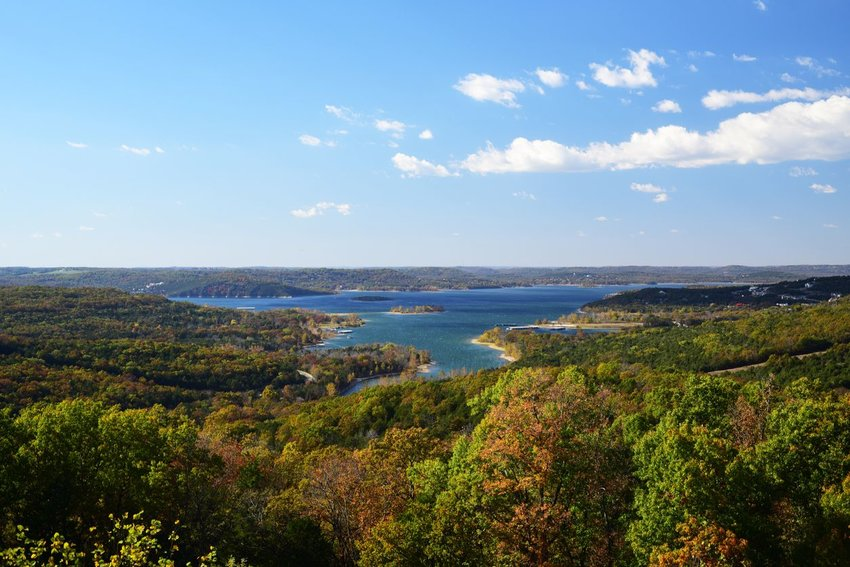Table Rock Lake in Branson, Missouri