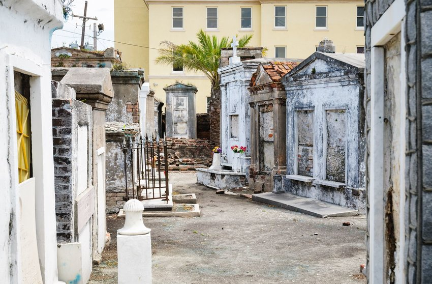 Saint Louis Cemetery No. 1 in New Orleans