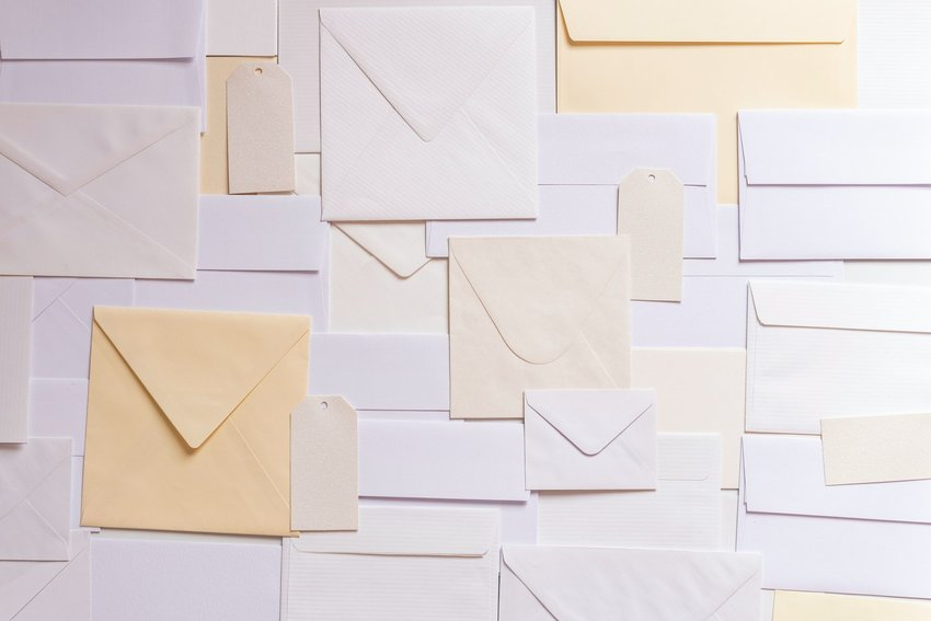Envelopes and mail tags