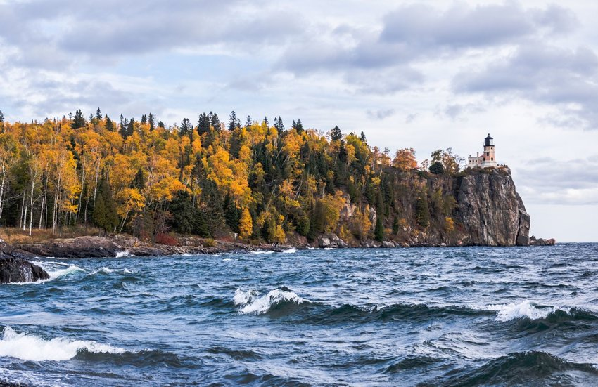 Split Rock Lighthouse State Park in Minnesota