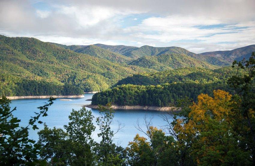 Fontana Lake in North Carolina