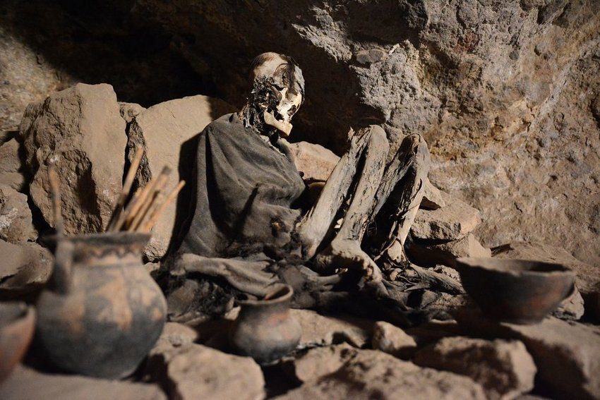 Mummy found in the Atacama Desert