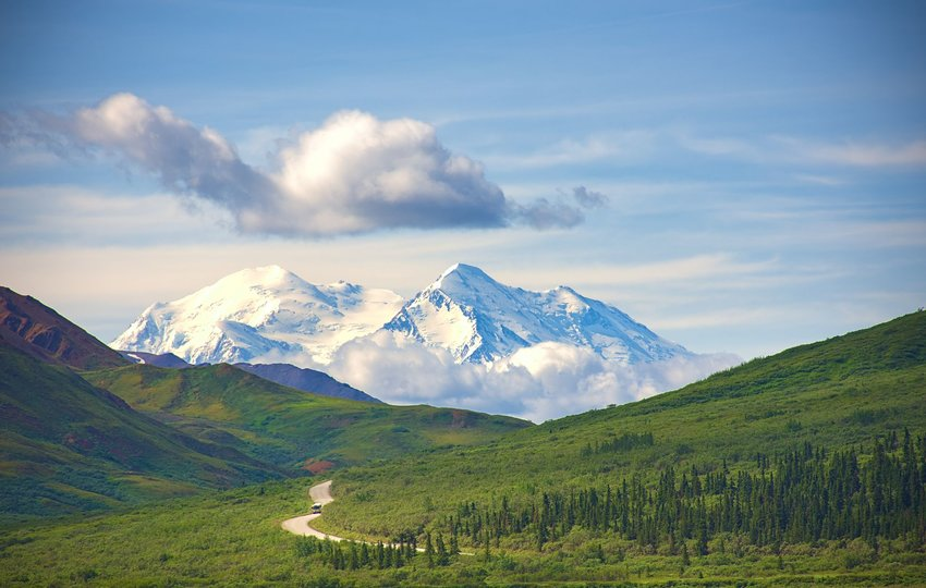 Denali National Park and Preserve in Alaska