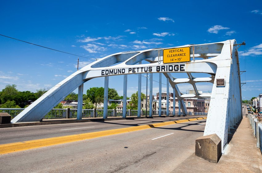 Edmund Pettus Bridge in Alabama