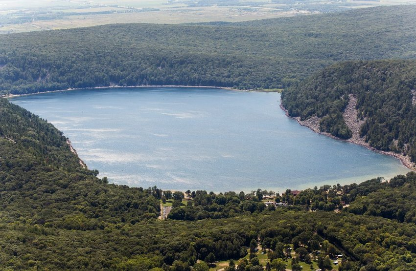 Devil's Lake State Park in Wisconsin