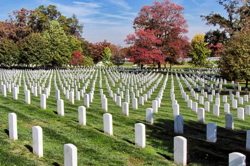 Arlington National Cemetery in Virginia