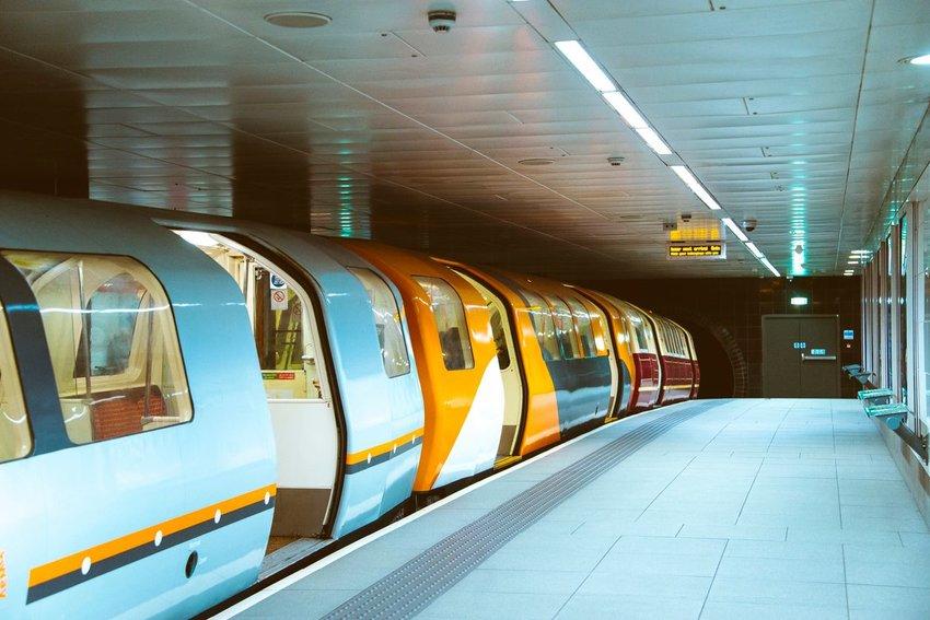 Glasgow underground subway system