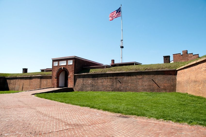 Fort McHenry in Maryland