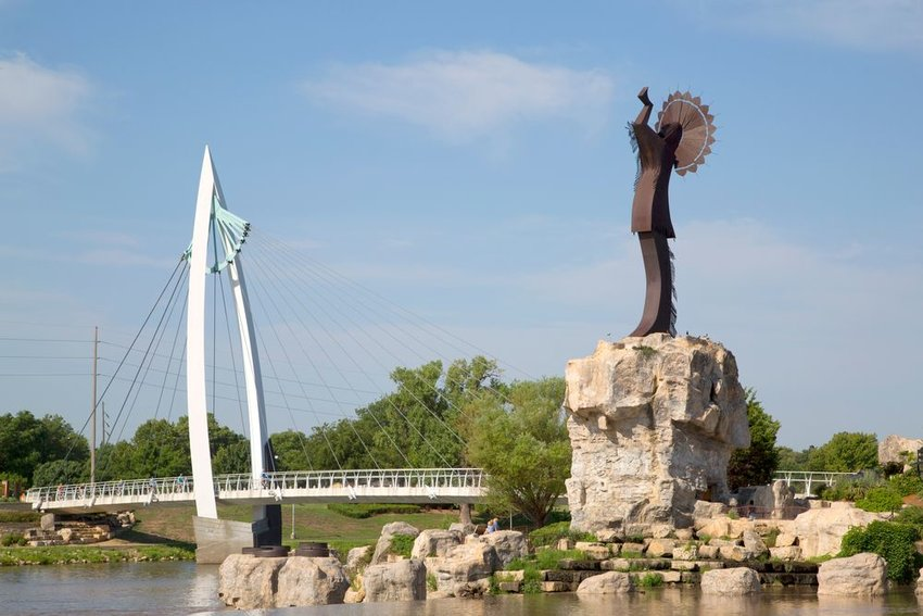 The keeper of the plains in Wichita Kansas, Missouri