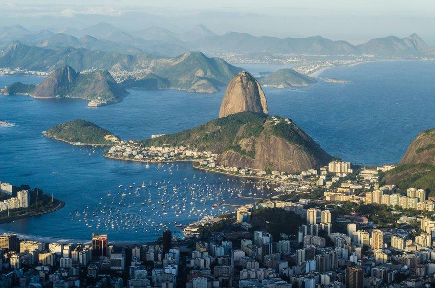 Rio de Janeiro seen from above