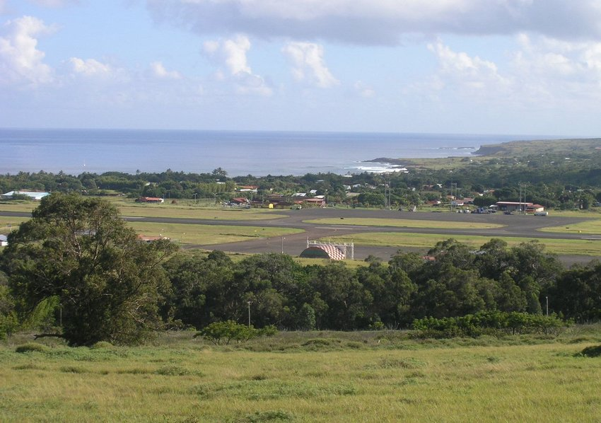 Airport in Easter Island