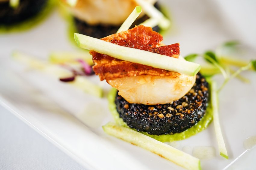 French dish with black pudding