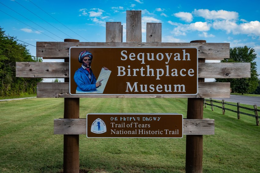Sequoyah Birthplace Museum in Tennessee
