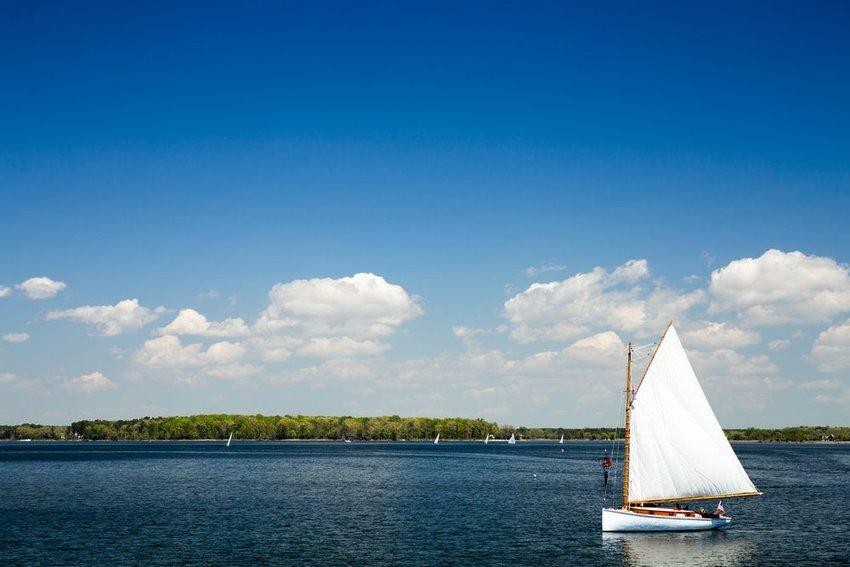 Sailboat in the Chesapeake Bay
