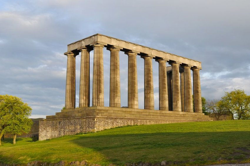 National Monument in the United Kingdom replicating the Acropolis