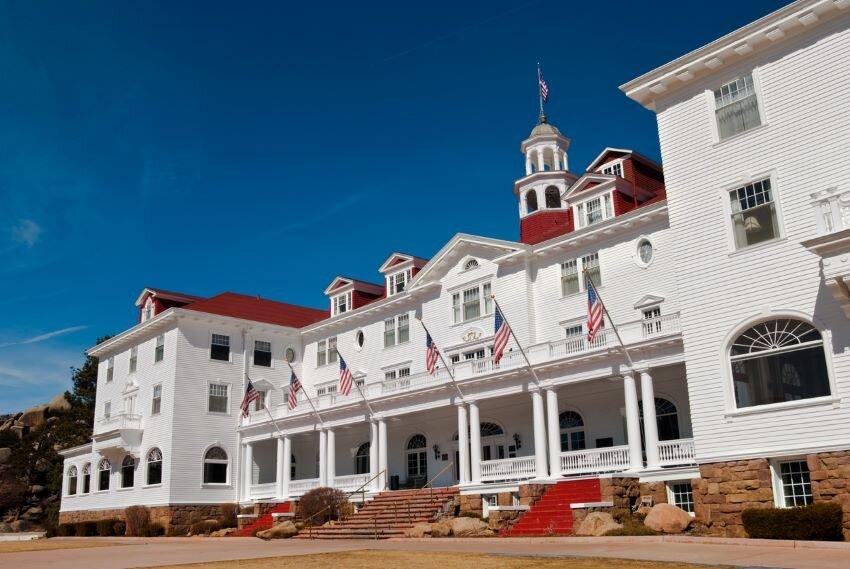 Stanley Hotel in Estes Park, Colorado.
