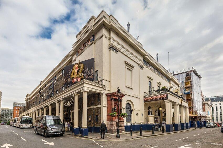 Exterior of Theatre Royal Drury Lane