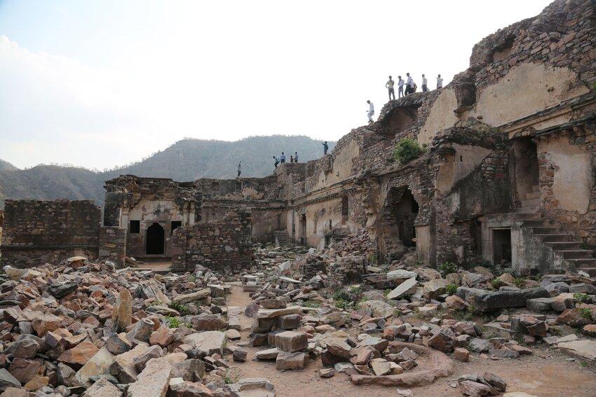 Ruins of Bhangarh Fort