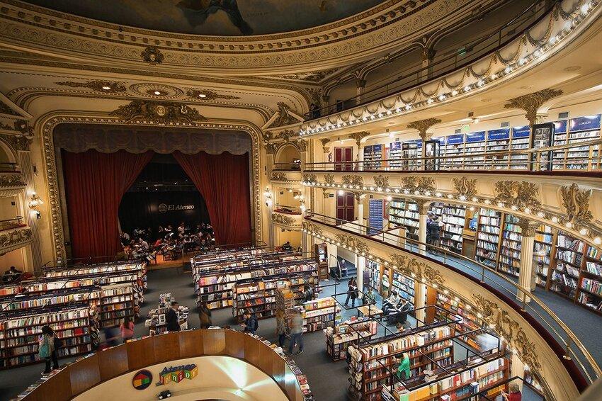 El Ateneo Grand Splendid in Argentina