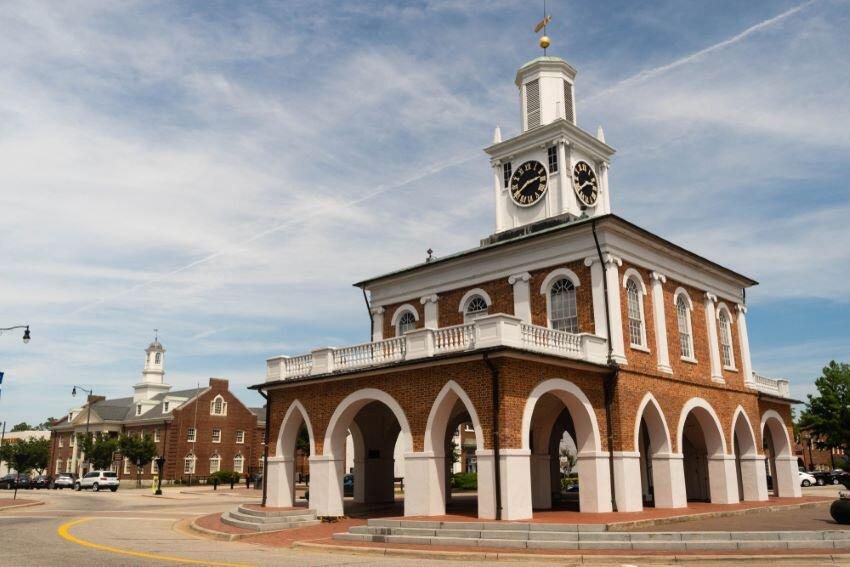 Fayetteville North Carolina Downtown City Center Hay Street.