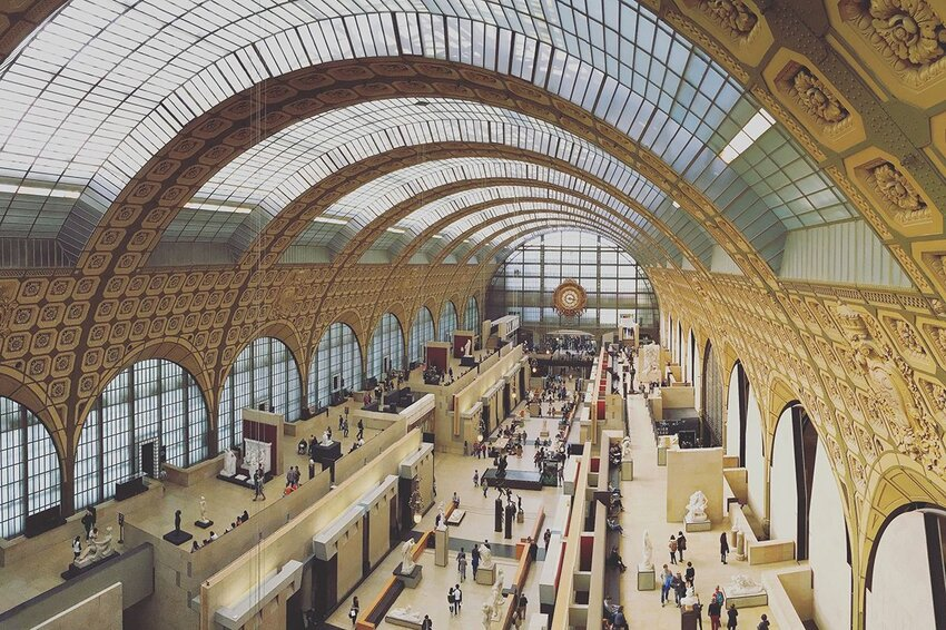 Main Hall of the Musée d'Orsay in Paris