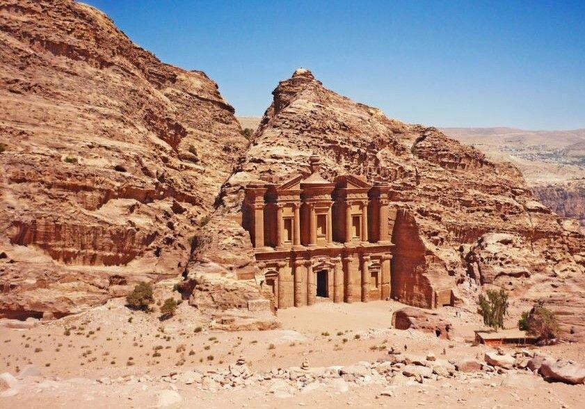 Petra Jordan archeological site, The Monastery.