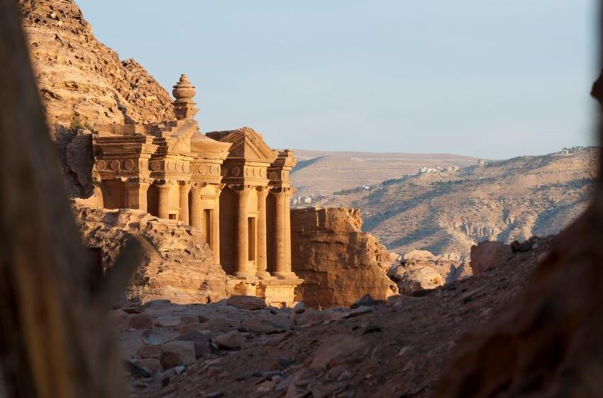 Al-Deir in Petra, Jordan.
