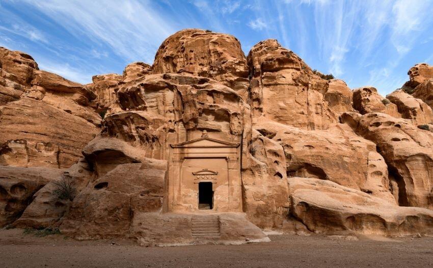 Unesco World heritage site, Little Petra.