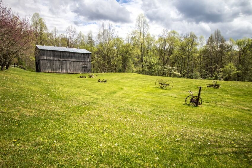 Rural Kentucky farm.