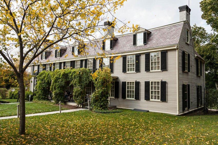 Adams family house