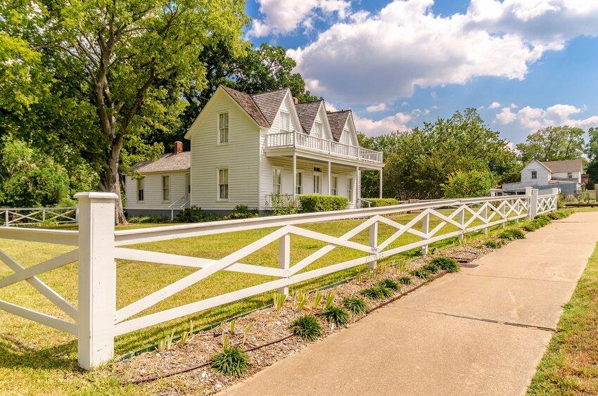 Dwight Eisenhower's childhood home in Denison, Texas