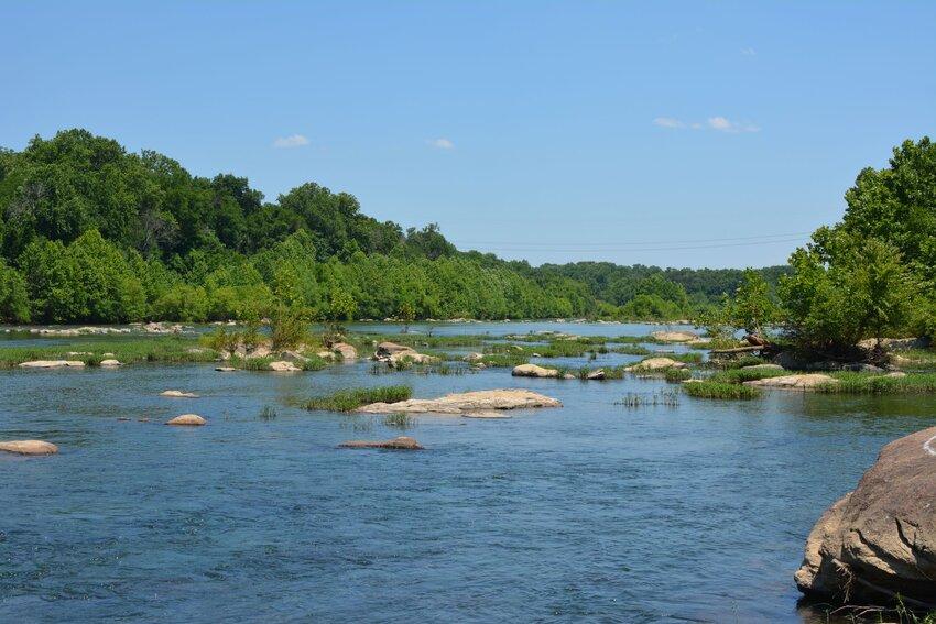 Rappahannock River near Fredericksburg, Virginia