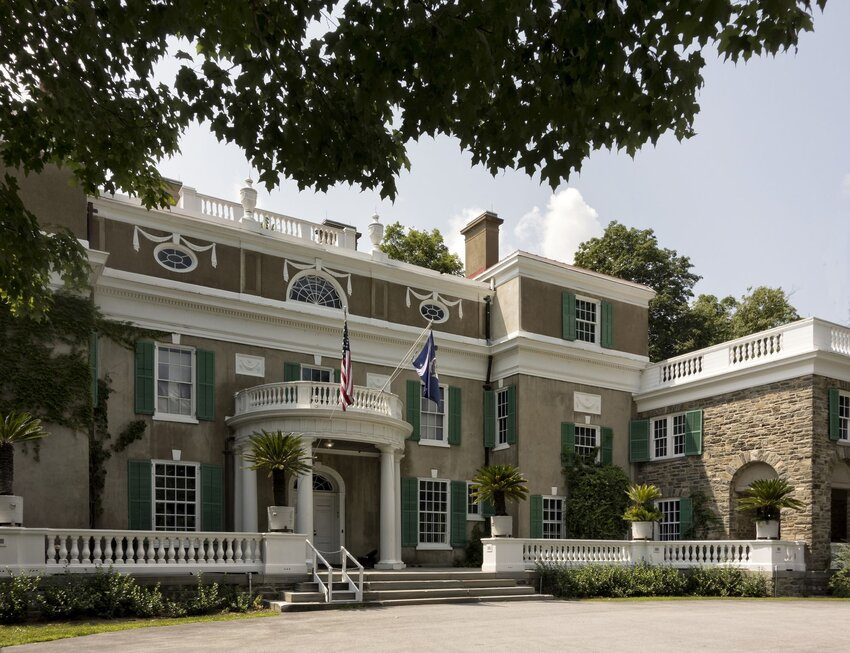 Grand Springwood estate in Hyde Park, New York