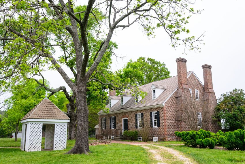 Brick home at the George Washington Birthplace National Monument