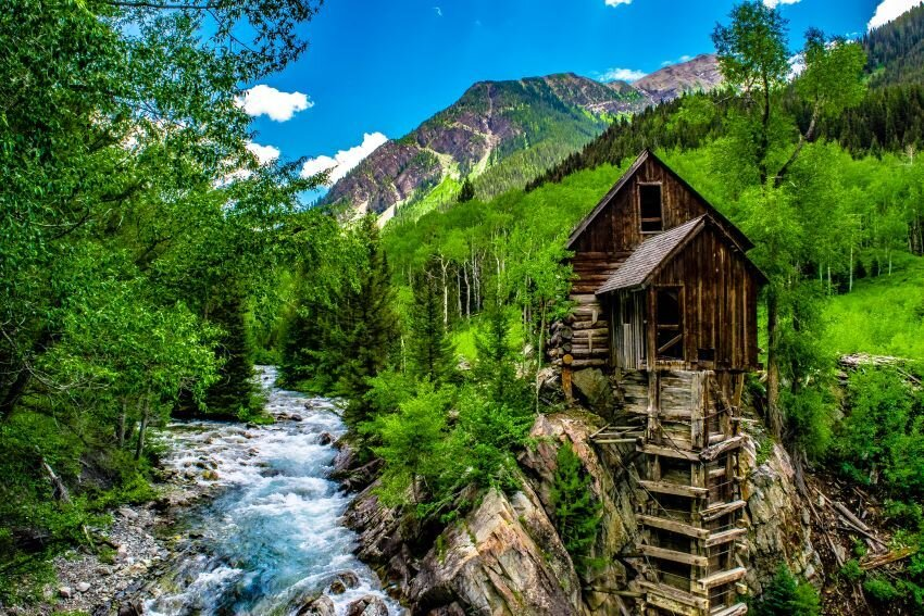Crystal Mill in Colorado.