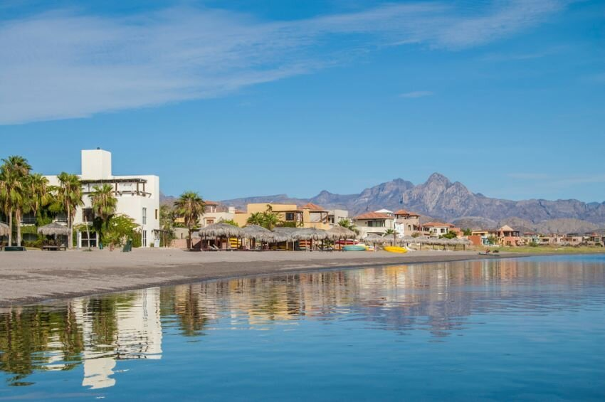 Sunny morning in Loreto, Baja California Sur.