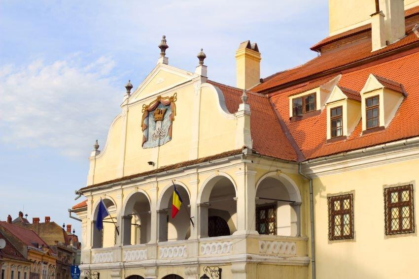 Town Hall Brasov, Romania.