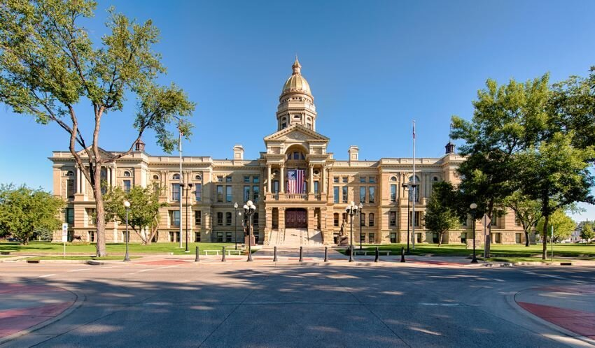 State Capitol Building in Cheyenne, Wyoming.