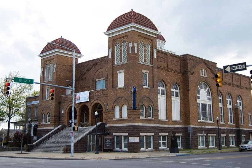 16th Street Baptist Church in Birmingham, Alabama.