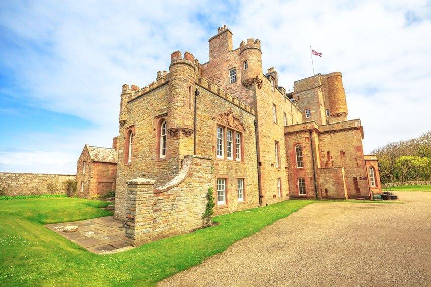 Castle of Mey in Scotland.