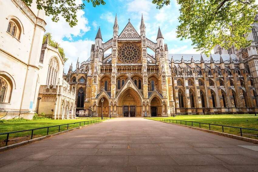 Westminster Abbey - Collegiate Church of St Peter at Westminster in London, UK.